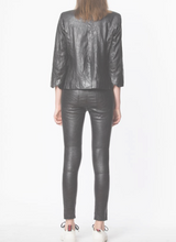 Load image into Gallery viewer, Zadig & Voltaire - Verys Crinkled Leather Jacket - Black