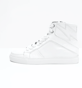 Zadig & Voltaire - High Flash Sneakers - Blanc
