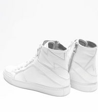 Load image into Gallery viewer, Zadig & Voltaire - High Flash Sneakers - Blanc