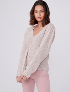 Paige - Alicia Sweater - Ivory Multi