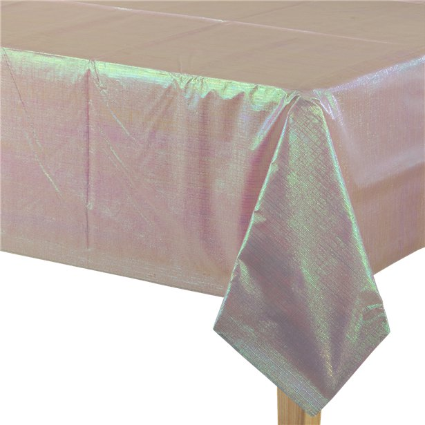 Dazzling Pink Paper Table Cover