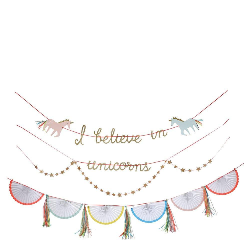 I Believe In Unicorns Garland by Meri Meri