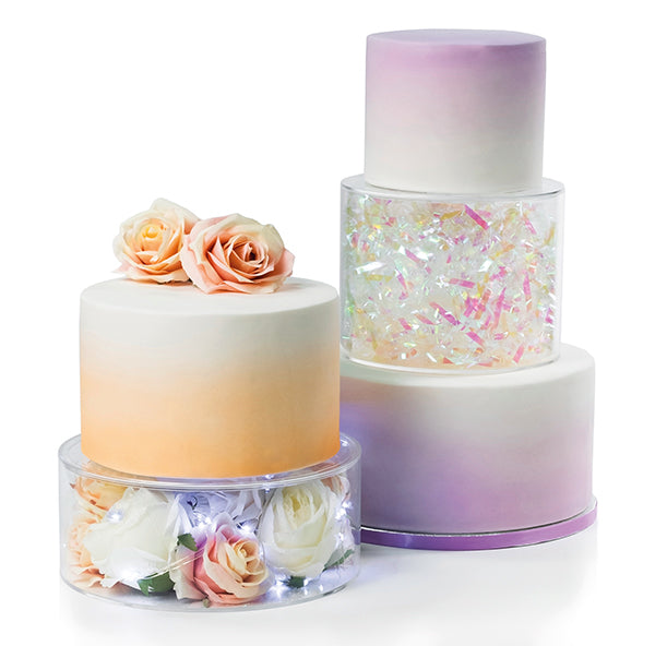 "Fill-A-Tier 8"" x 6"" Cake Display Stand"
