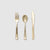 Metallic Gold Cutlery