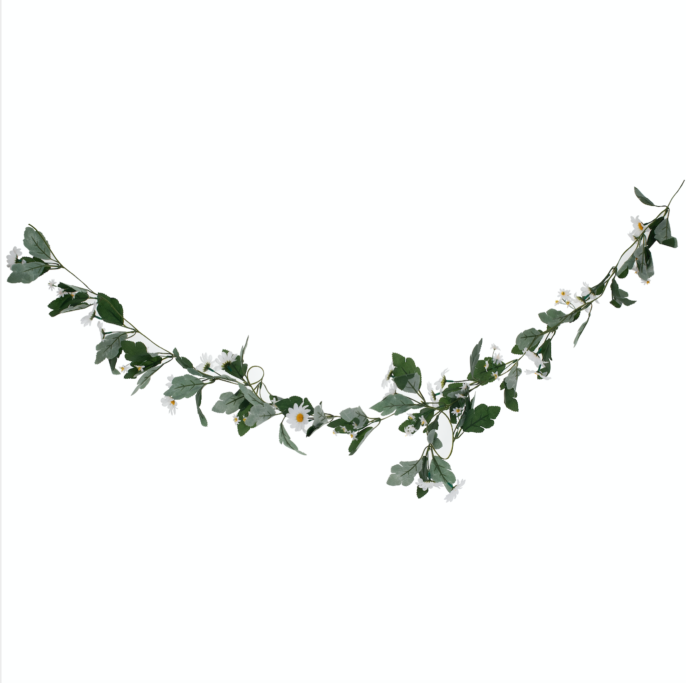 Decorative Artificial Daisy Floral Easter Garland
