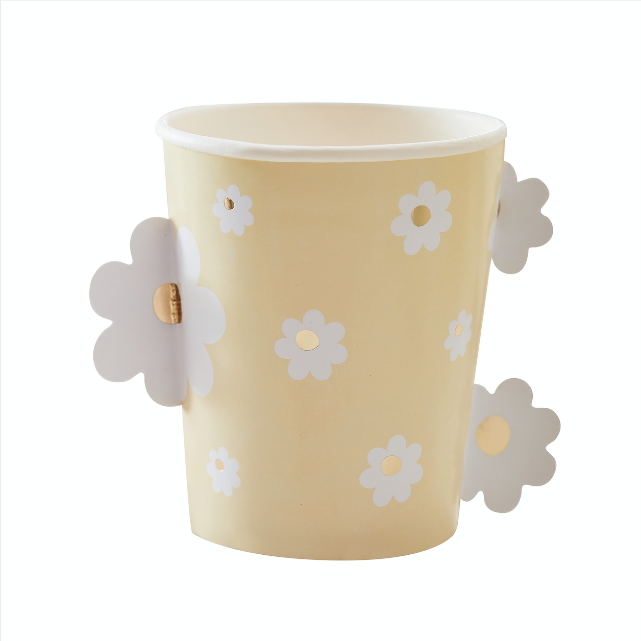 Daisy Easter Paper Cups
