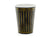 Black Striped Paper Party Cups