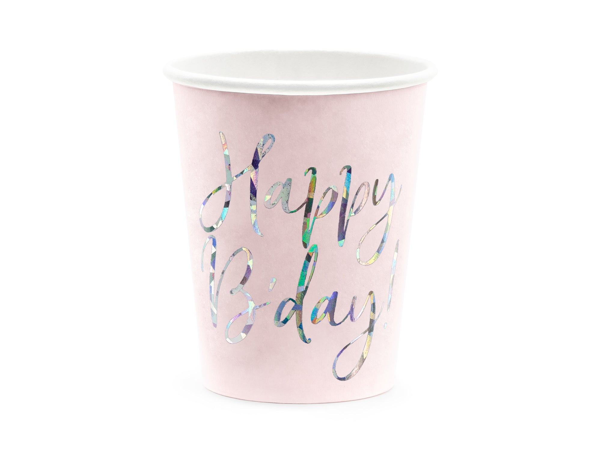 Light Pink Party Paper Cups