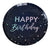 Iridescent Foiled Happy Birthday Paper Plates Stargazer