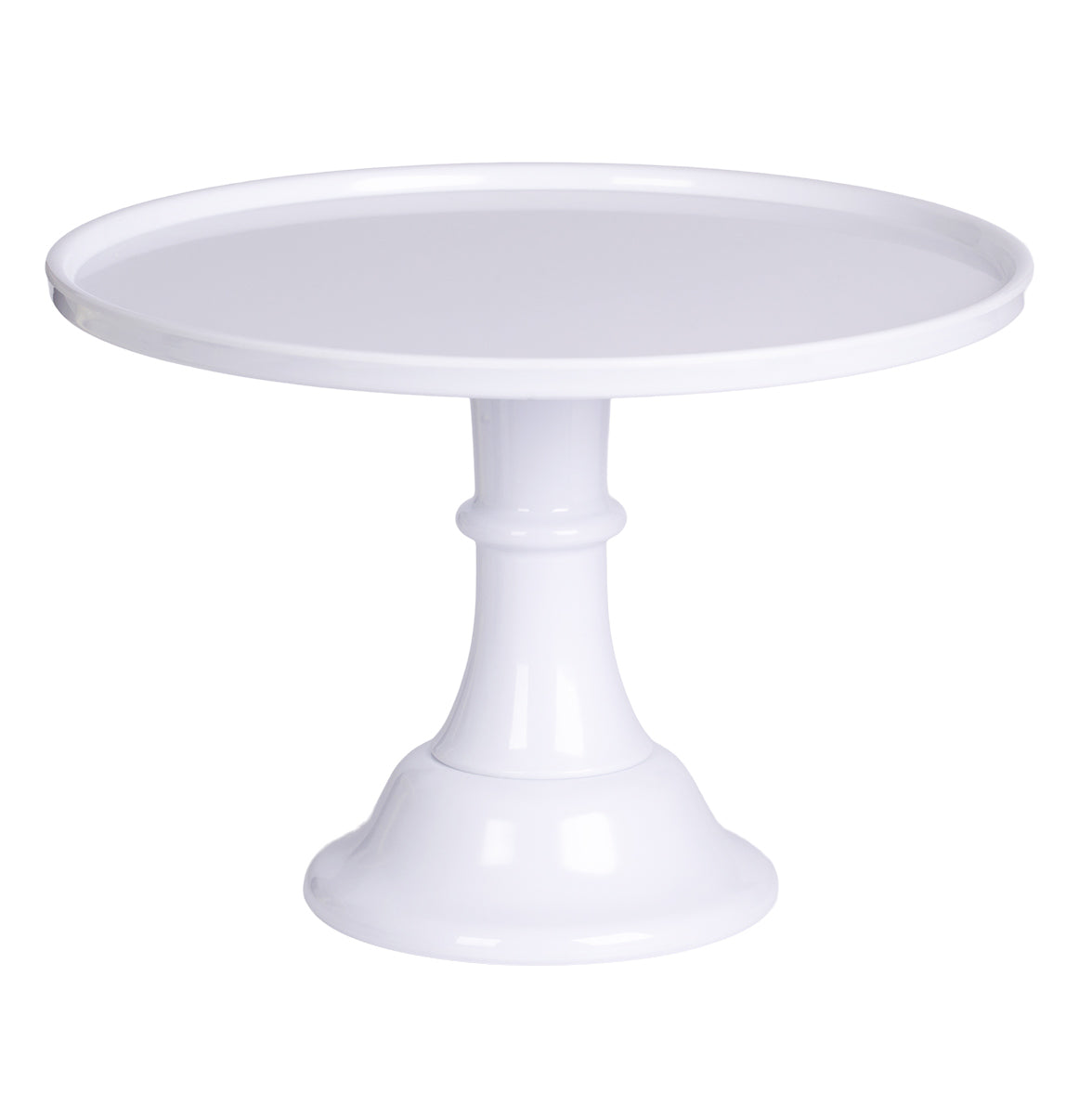 Classic Large Cake Stand - White