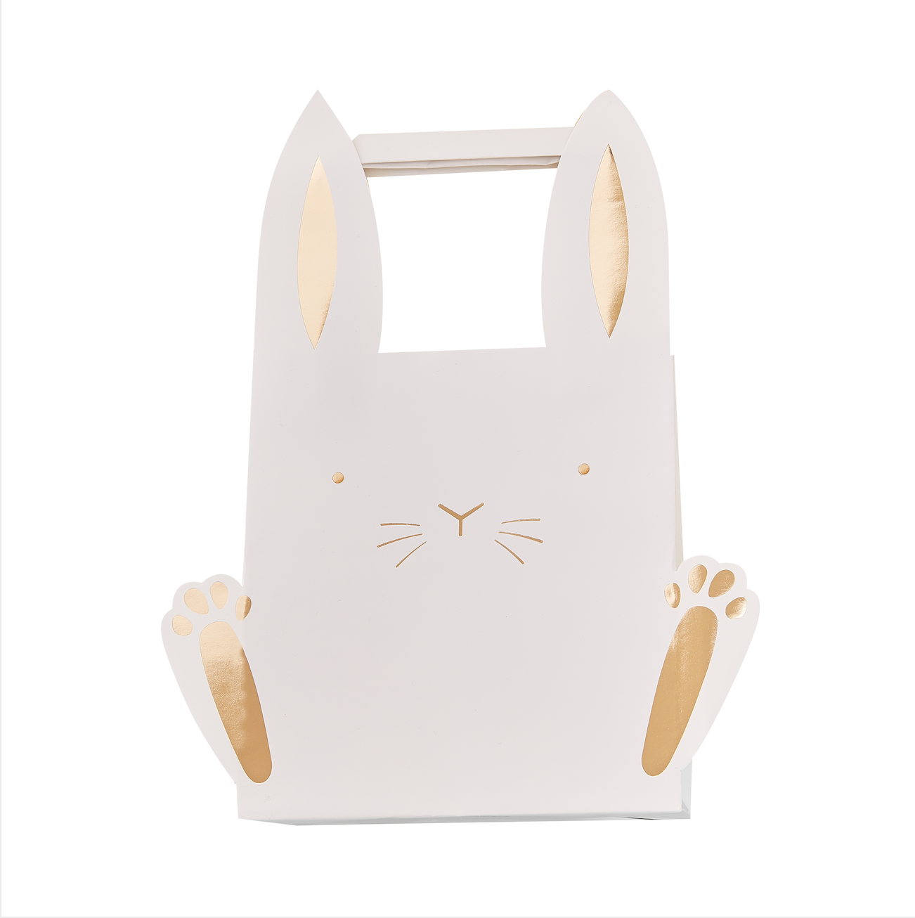 Bunny Shaped Easter Party Bags