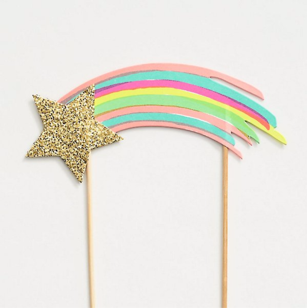 Meri Meri Toot Sweet Shooting Star Cake Topper