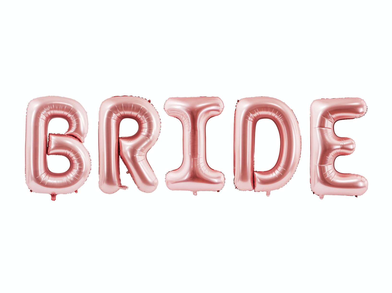 Rose Gold 'Bride' Balloon Bunting