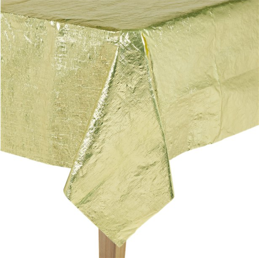 Gold Metallic Table Cover