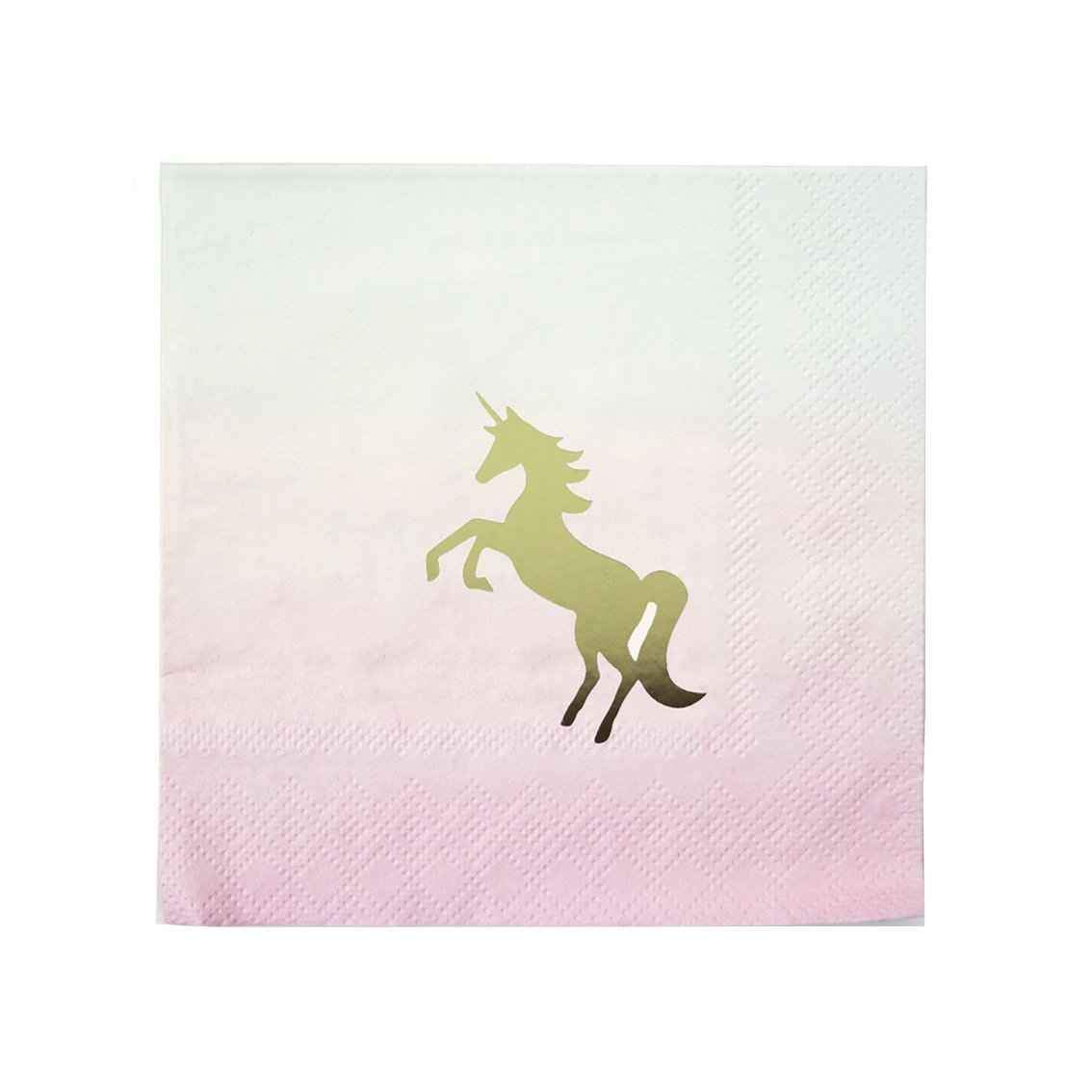 Pastel Unicorn Party Napkins