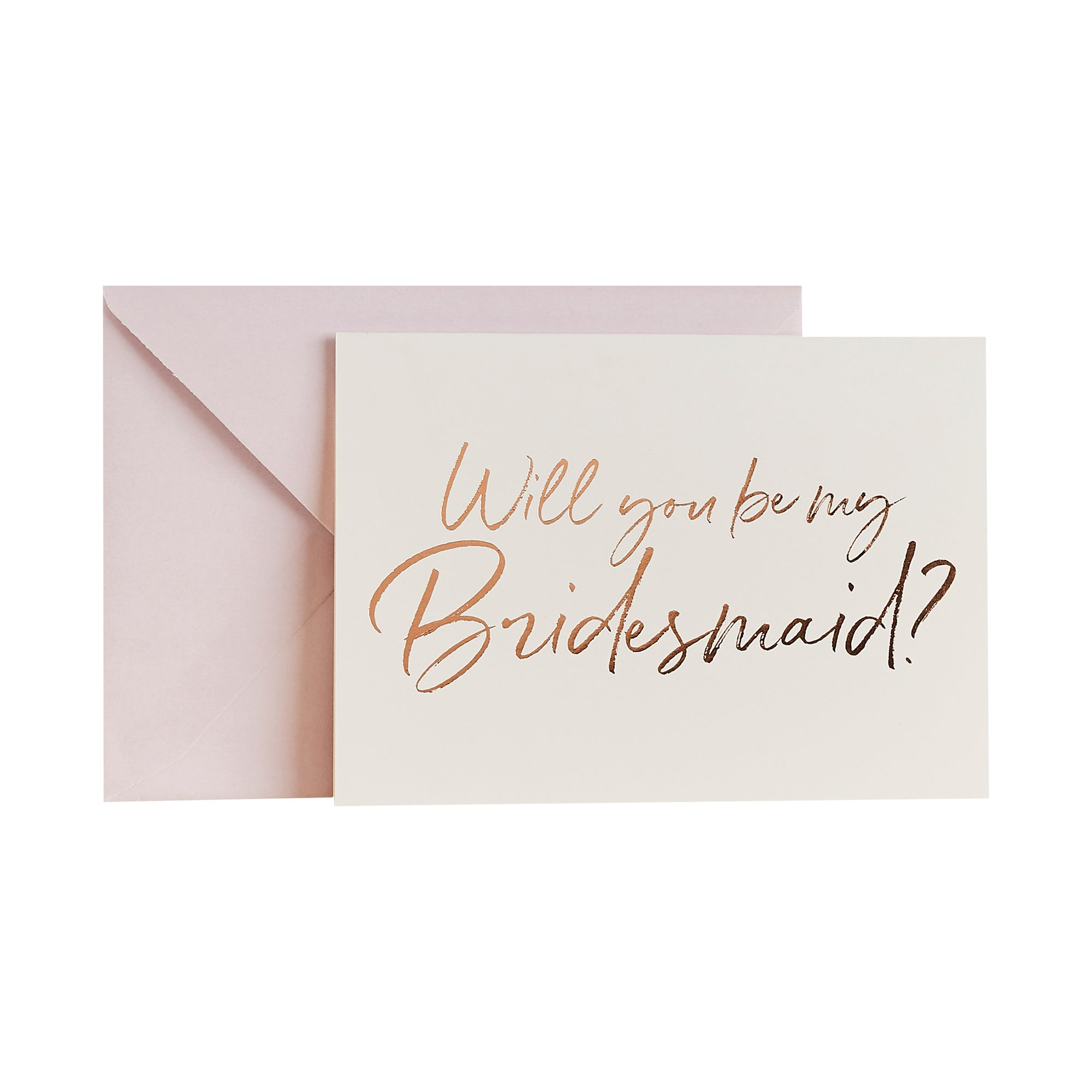 Will You Be My Bridesmaid Paper Cards