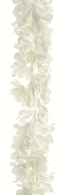 White Floral Artificial Garland