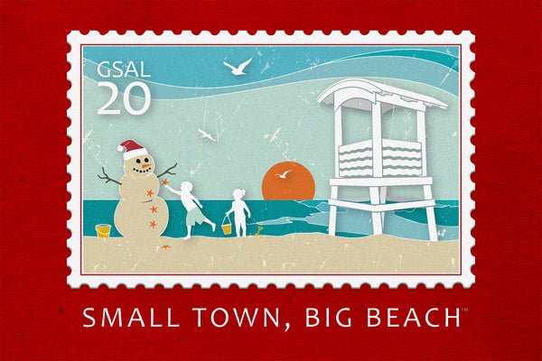 (Individual) Christmas Card- SMALL TOWN, BIG BEACH™