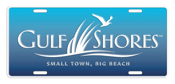 Gulf Shores Car Tag