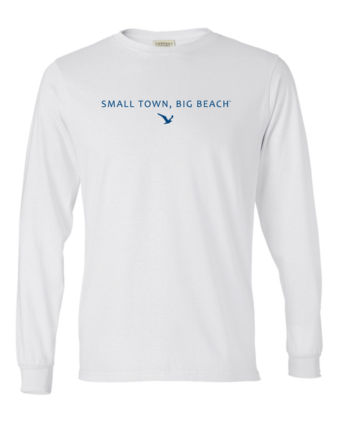 Gulf Shores T-Shirts│Classic STBB Long Sleeve T-Shirt - White