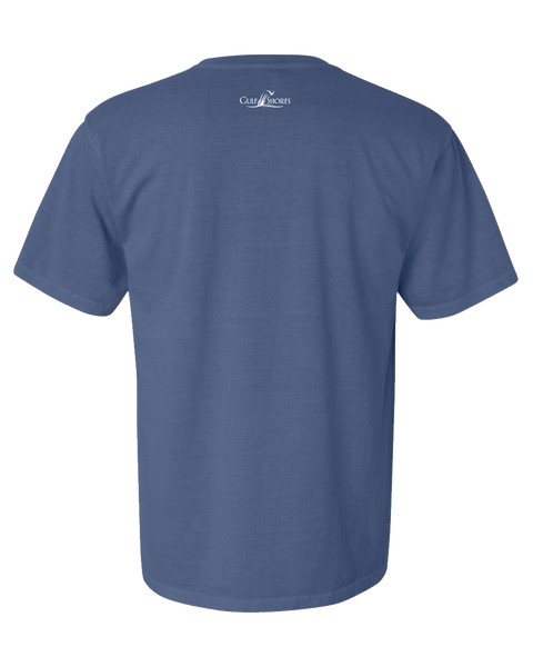 Gulf Shores T-Shirts│Classic STBB T-Shirt - Dark Blue Back