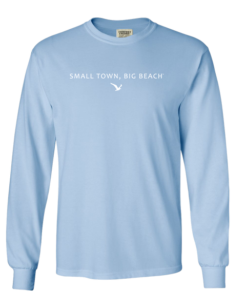 Gulf Shores T-Shirts│Classic STBB Long Sleeve T-Shirt - Light Blue