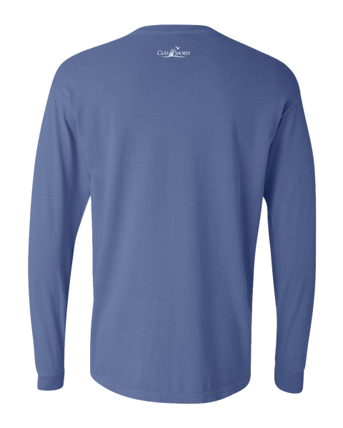 Gulf Shores T-Shirts│Classic STBB Long Sleeve T-Shirt - Dark Blue Back
