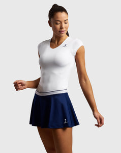 Elegance Tennis Skirt Navy