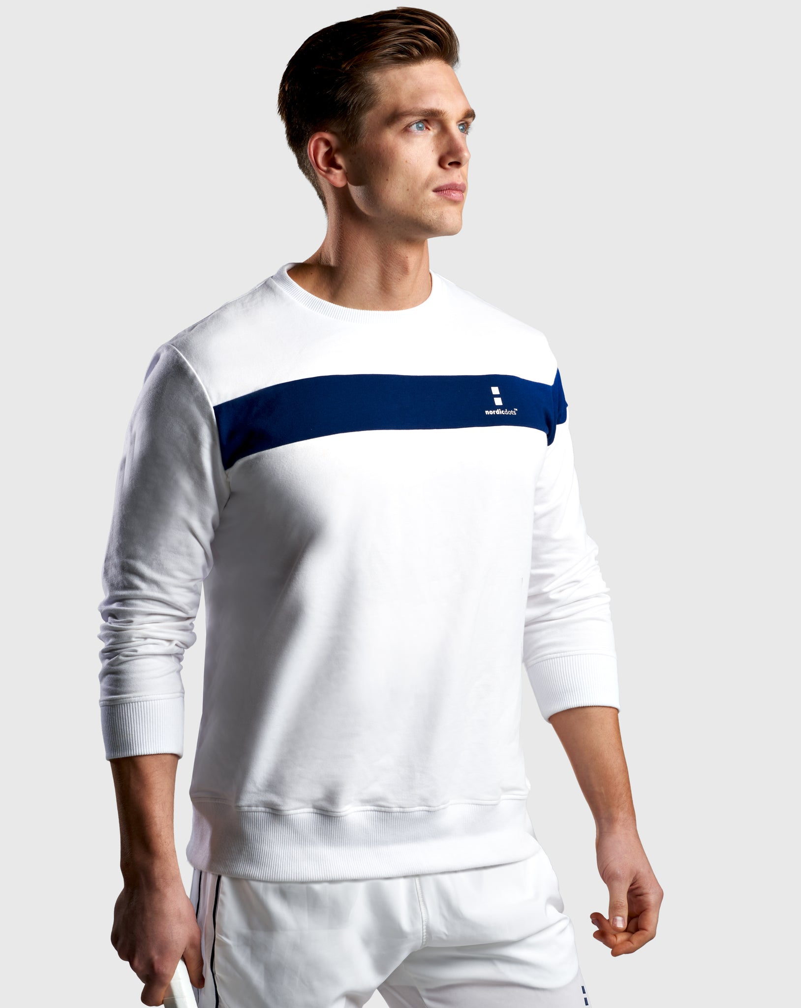Organic Base Sweatshirt  White