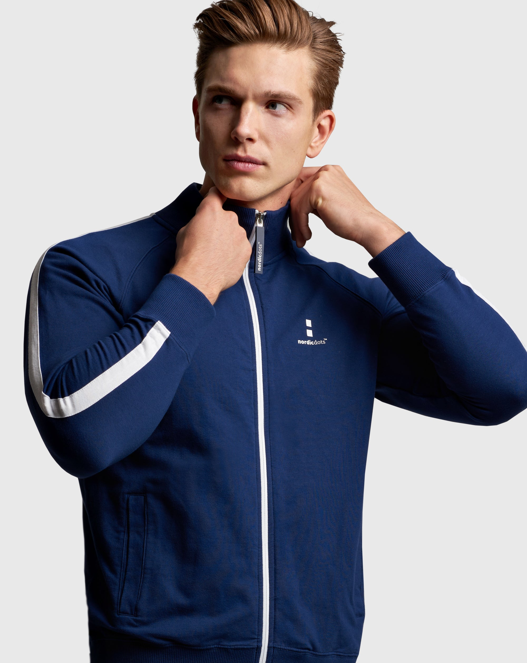 nordicdots tennis jacket organic cotton