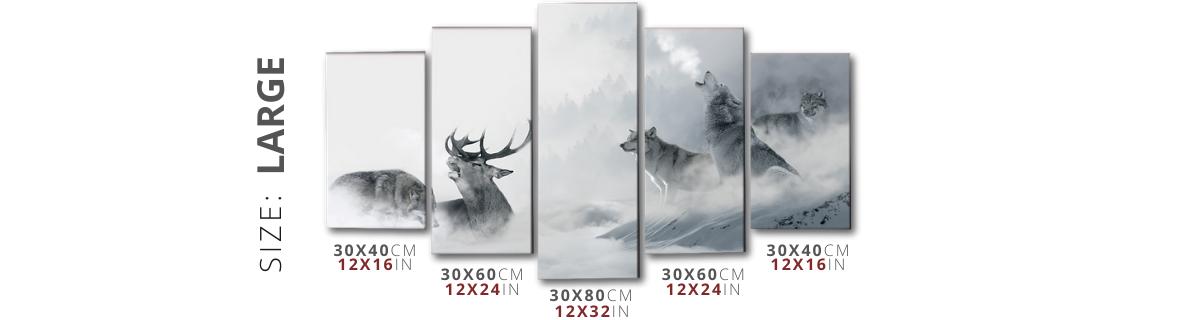 painting size chart