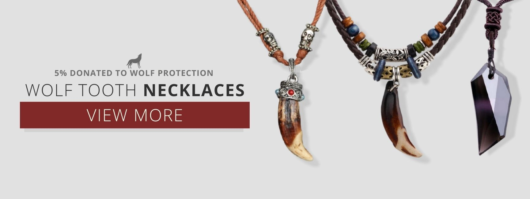 wolf teeth necklaces