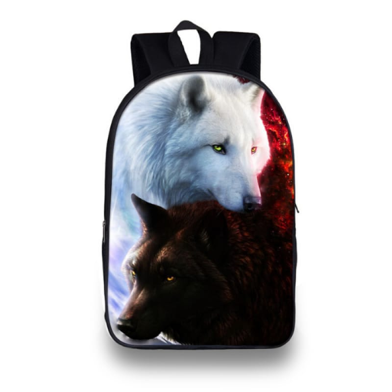 3D Wolf Backpack
