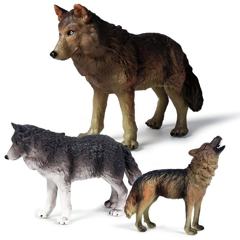 Alpha and Omega Wolf Toys