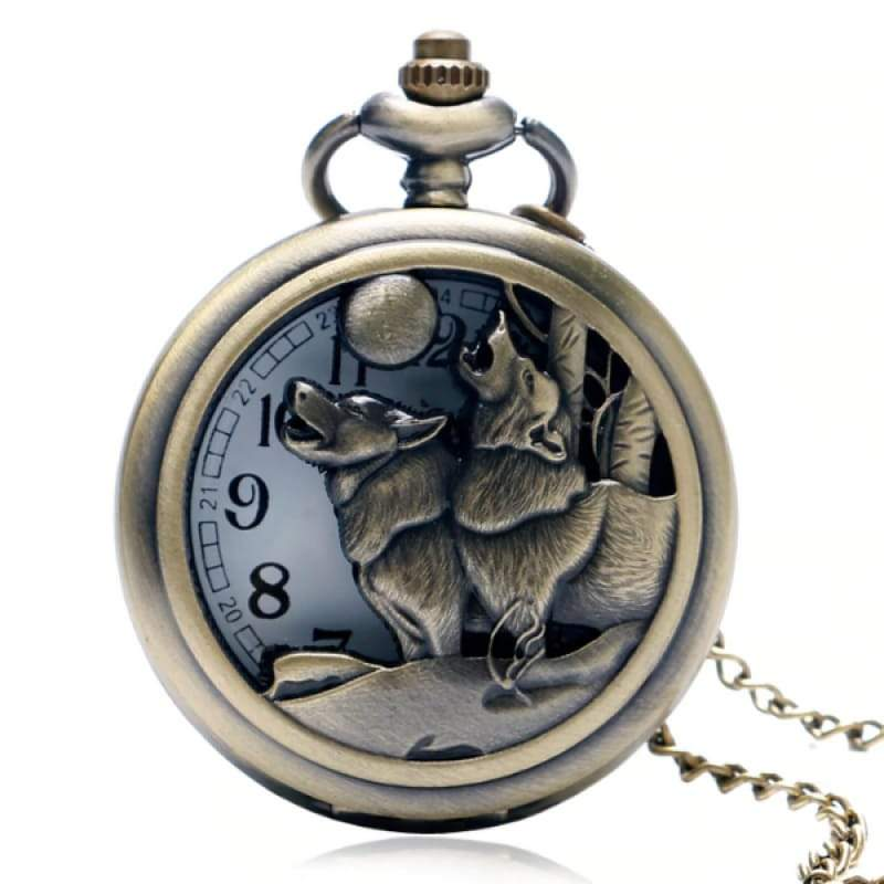 Animal Pocket Watch