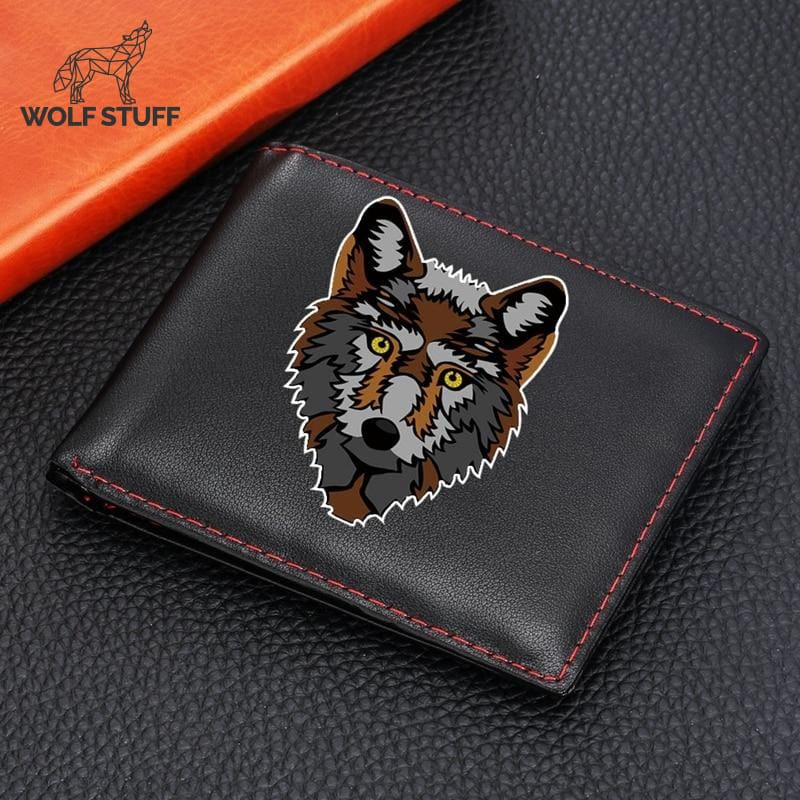 Anime wolf wallet