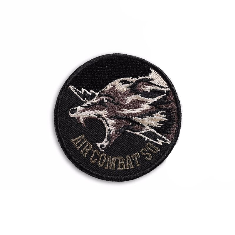 Army wolf patch