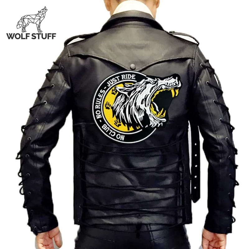 Big wolf patch