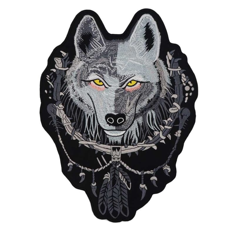 Black Wolf Patch