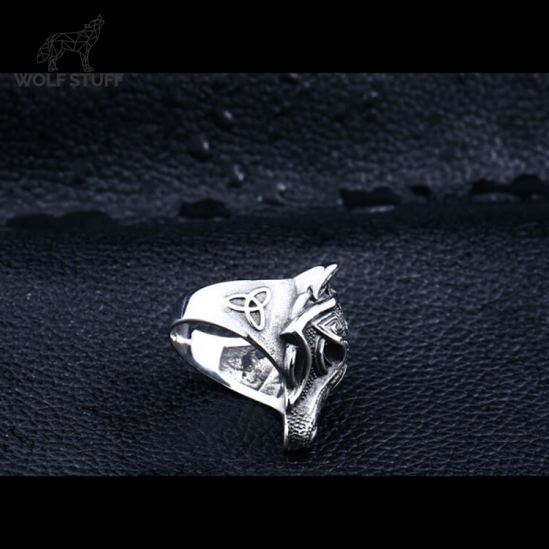 Celtic Wolf Ring