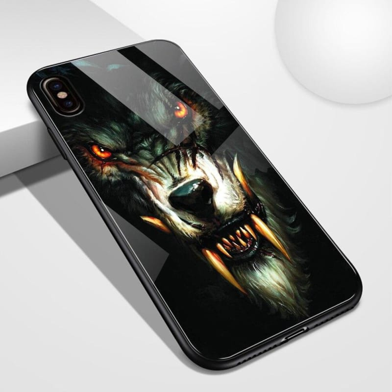 Crystal Wolf Phone Case