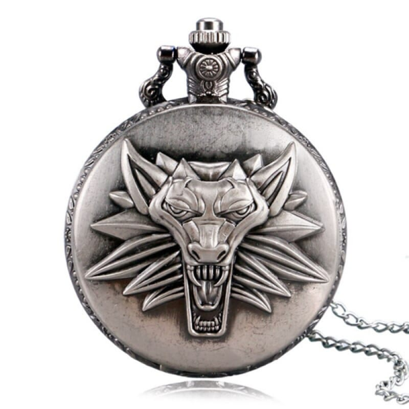 Dire Wolf Pocket Watch
