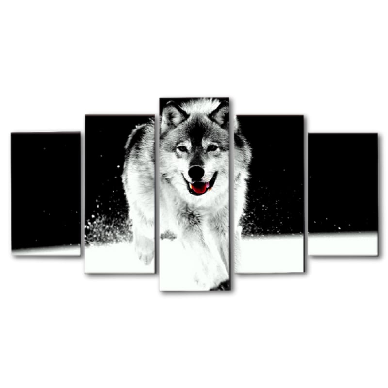 Dog Canvas Wall Art