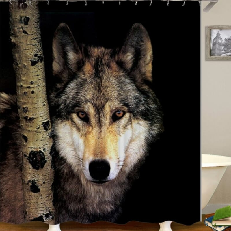 Forest Animal Shower Curtain