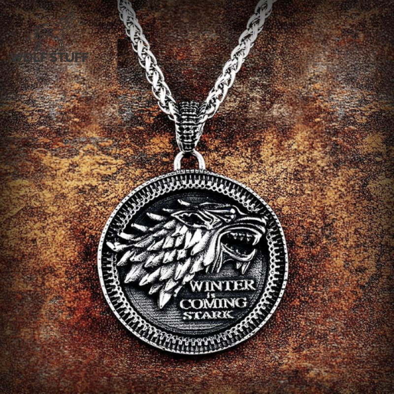 Game of Thrones Wolf Necklace