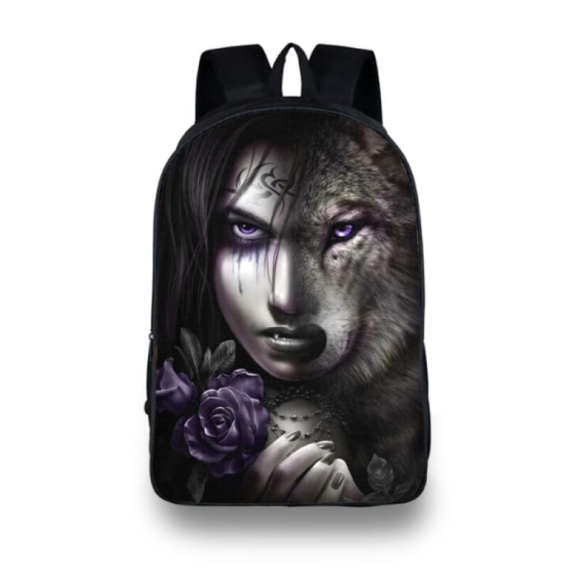 Girl Wolf Backpack