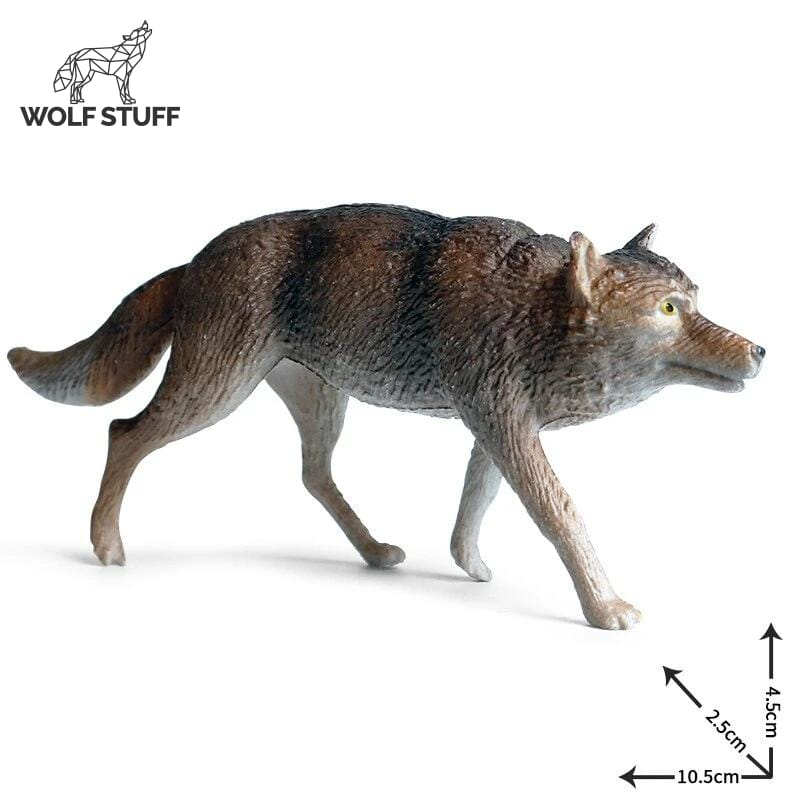 Gray Wolf Toy