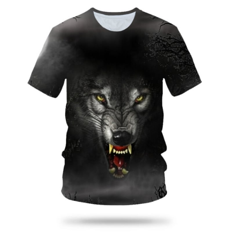 Growling Wolf T-Shirt