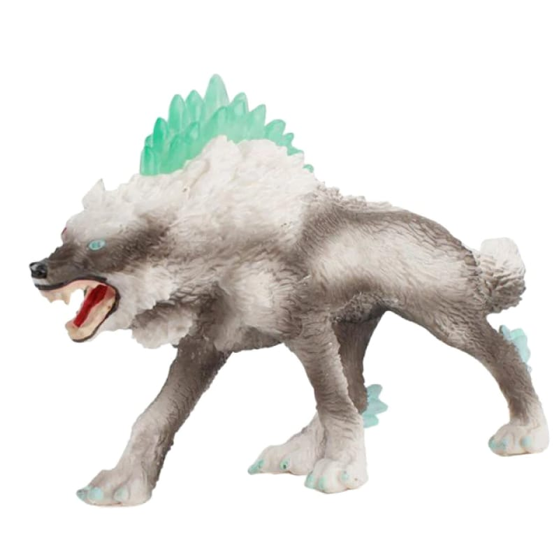 Ice Wolf Toy