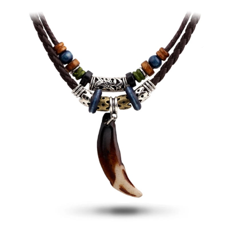 Indian Wolf Necklace
